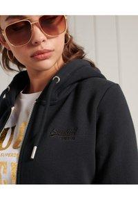 Superdry - ORANGE LABEL - Zip-up sweatshirt - eclipse navy - 2