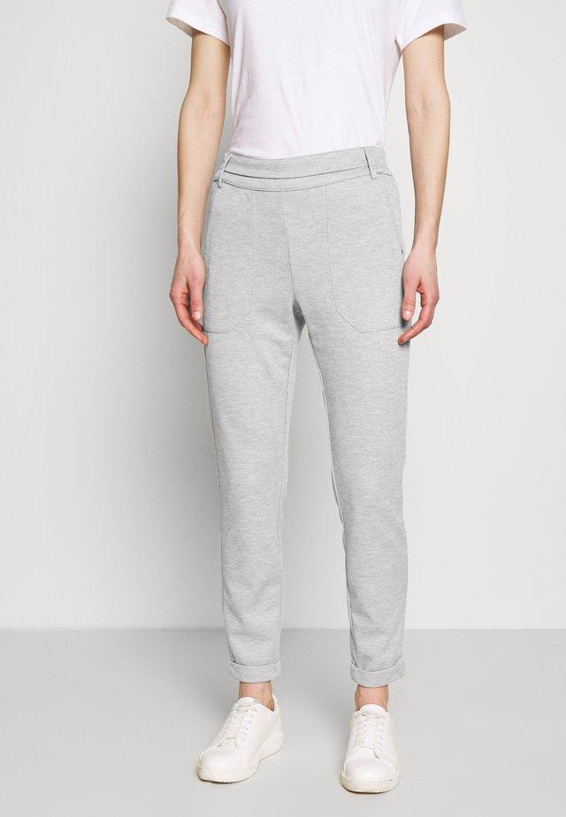 KARENEFA PANTS - Trousers - light grey melange