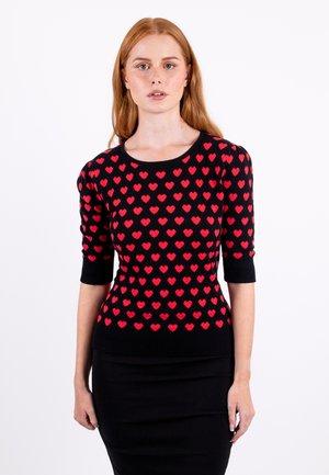 CHRISSIE  - Print T-shirt - pink
