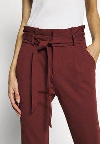 Vero Moda - VMEVA LOOSE PAPERBAG PANT - Pantalon classique - sable - 5