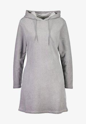 Jersey dress - gull grey