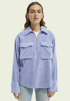Polo shirt - cornflower