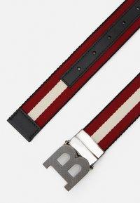 Bally - Cintura - black/bone/red - 2