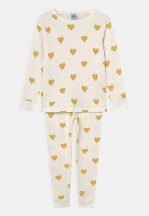 TRIPLETTE - Pyjama - marshmallow/ocre