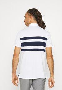 Polo Ralph Lauren Golf - SHORT SLEEVE - Print T-shirt - white/french navy - 2