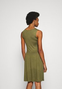 Anna Field - BASIC JERSEYKLEID - Jersey dress - olive night - 2