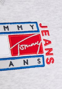 Tommy Jeans - TIMELESS FLAG - Sweatshirt - silver grey - 5