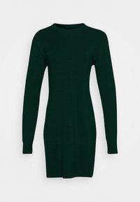 Even&Odd - JUMPER Knit DRESS - Shift dress - scarab - 3