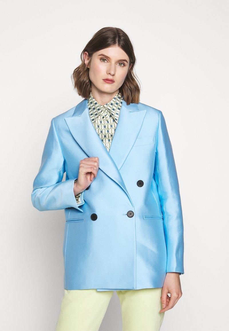 DESIGNERS REMIX - HAILEY - Short coat - sky blue
