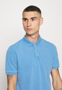 Scotch & Soda - GARMENT DYED STRETCH  - Polo shirt - infinite blue - 3