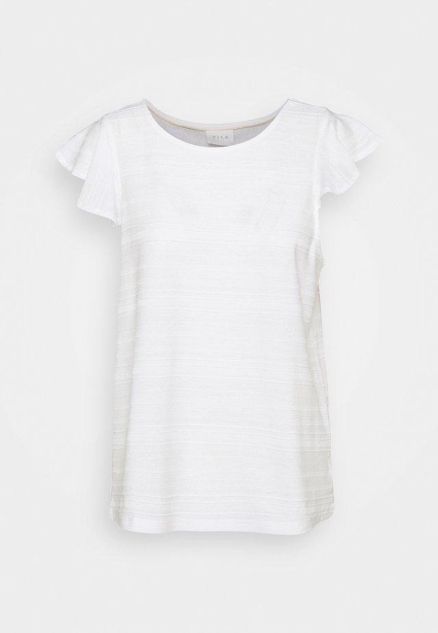 VIFLINT CAPSLEEVE - T-shirt con stampa - cloud dancer