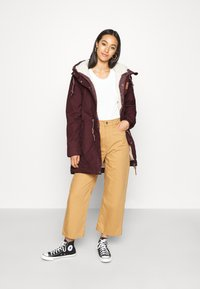 Ragwear - CANNY - Winter coat - wine red - 1
