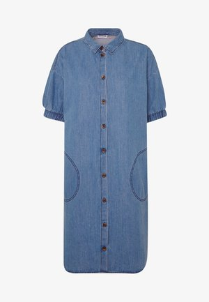 NMJENNY SDRESS  - Denim dress - medium blue denim