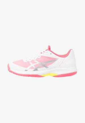 GEL COURT SPEED - Kengät kaikille alustoille - white/laser pink