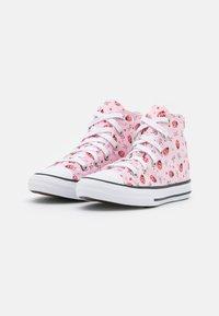 Converse - CHUCK TAYLOR ALL STAR UNISEX - Zapatillas altas - pink foam/white/black - 1