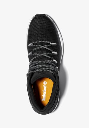 SPRINT TREKKER MID FABRIC WP - Sneakersy niskie - black mesh