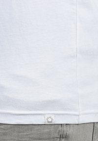 Solid - BEDA - Long sleeved top - white
