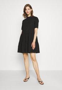 Vero Moda - VMDELTA DRESS - Skjortekjole - black - 1