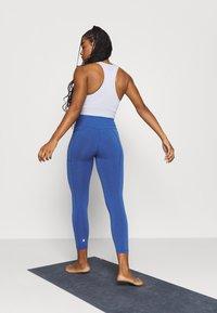 Sweaty Betty - SUPER SCULPT 7/8 YOGA LEGGINGS - Legging - blue quartz marl - 2