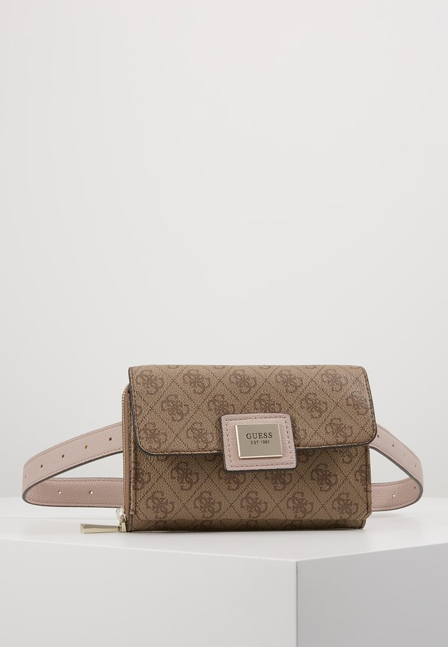 CANDACE CNVRTBLE XBDY BELT BAG - Marsupio - brown