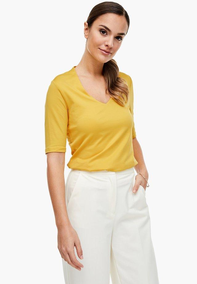 T-shirt basic - summer yellow