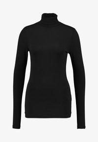 AMOV - COCO ROLL NECK - Bluzka z długim rękawem - black - 3