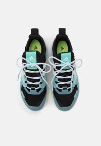 adidas Performance - TERREX TRAILMAKER GORE-TEX  - Løbesko trail - core black/clear mint/acid mint - 3