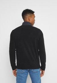 Brave Soul - THERMAL - Fleece jumper - black/slate grey - 2