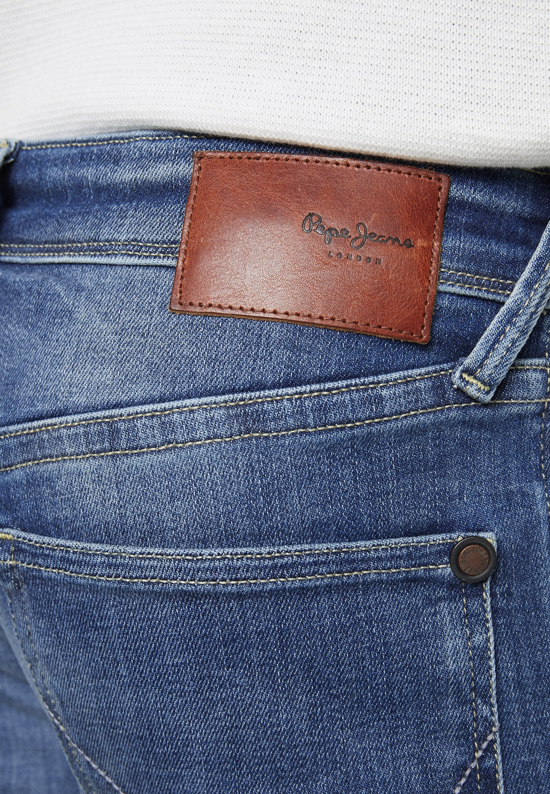 Pepe Jeans HATCH - Jean slim - medium used