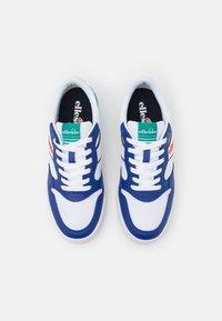 Ellesse - USTICA - Trainers - white/blue/dark green - 3