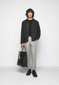 Filippa K - LOUIS JACKET - Lehká bunda - dark grey - 1