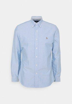 CUSTOM FIT OXFORD SHIRT - Košile - blue