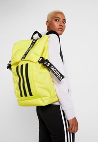 adidas Performance - Reppu - shock yellow/black/white - 5