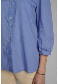 Nümph - Button-down blouse - wedgewood - 3