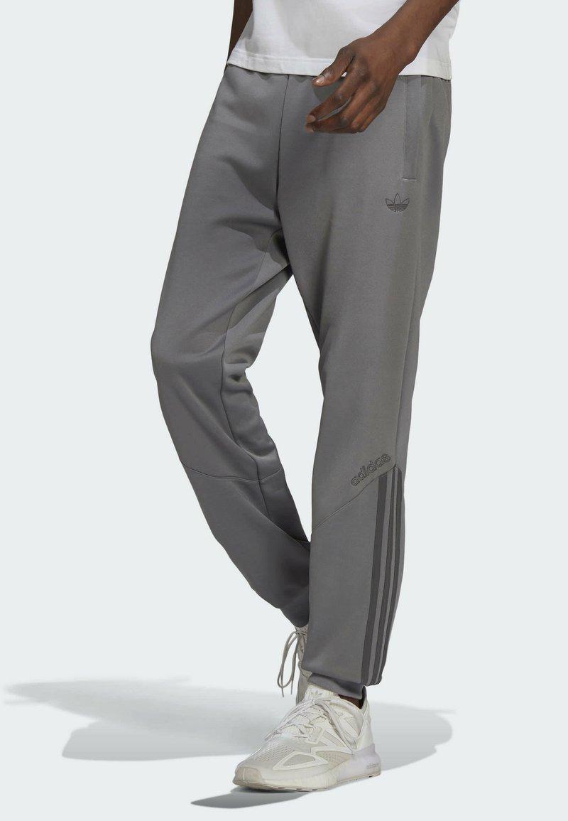 adidas Originals - BLOCKED POLY ORIGINALS SPRT COLLECTION TRACK PANTS - Träningsbyxor - grey