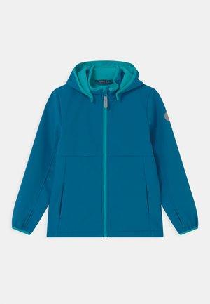 NKMMALTA - Soft shell jacket - mykonos blue