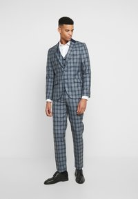 Shelby & Sons - LEYBURN 3PC SUIT - Completo - blue - 0