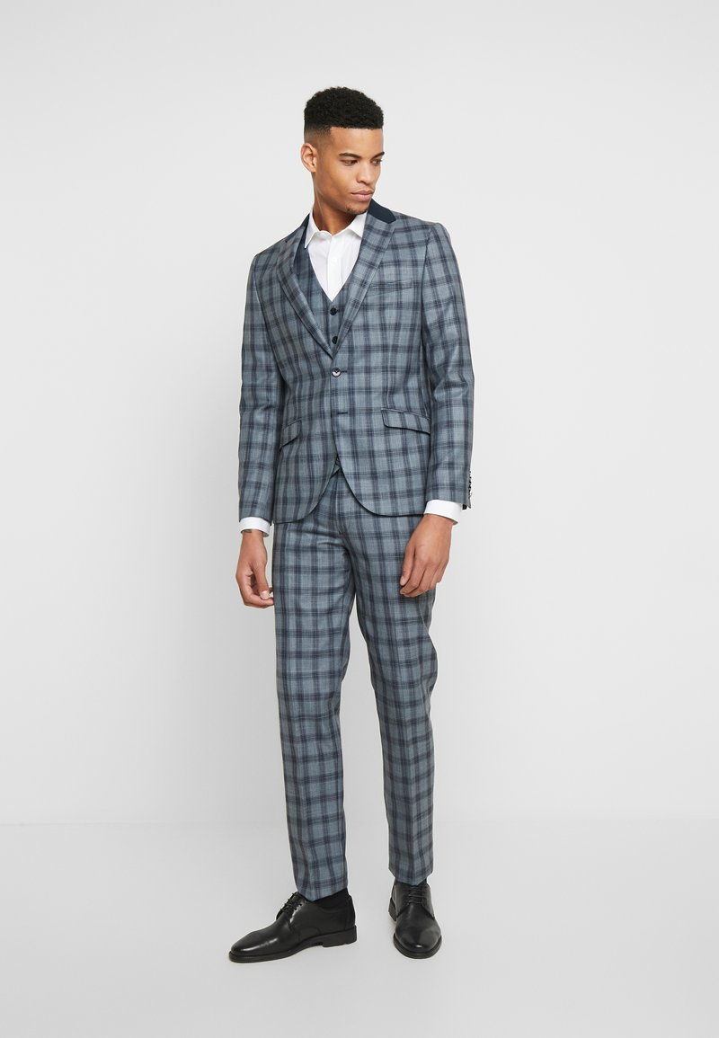 Shelby & Sons - LEYBURN 3PC SUIT - Completo - blue