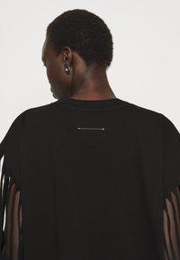 MM6 Maison Margiela - Jersey dress - black - 4