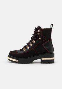River Island - Platform ankle boots - black - 1