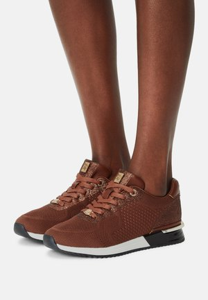 HESTER - Sneakers laag - cognac