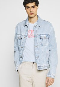TOM TAILOR - Print T-shirt - light metal blue - 3