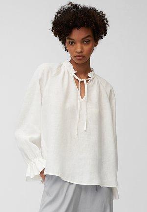 Blouse - cotton white