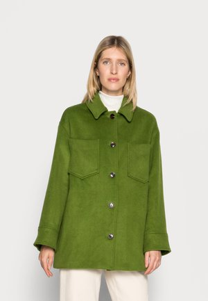 DIONE - Short coat - twist of lime