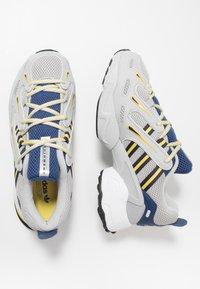 adidas Originals - EQT GAZELLE - Sneakers - grey two/legend ink/yellow - 1