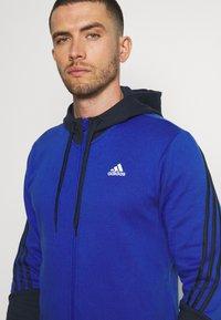 adidas Performance - TRACKSUITS - Träningsset - bold blue/legend ink - 2