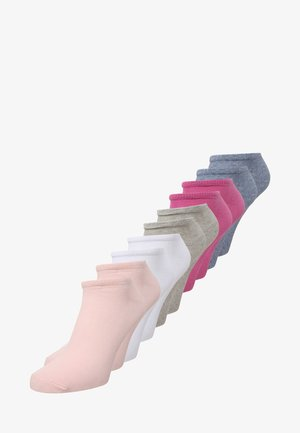 ONLINE UNISEX ESSENTIAL SNEAKER 10 PACK - Socks - super pink