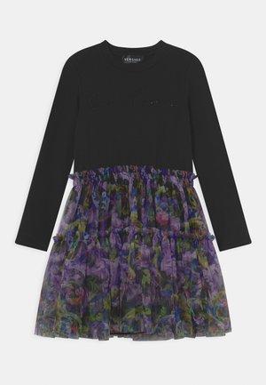 DRESS STRASS BAROCCOFLAGE - Vestido ligero - nero/multicolor