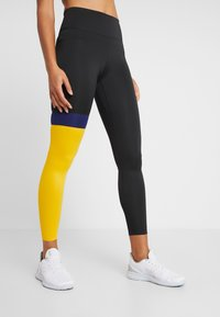 Nike Performance - ONE - Tights - black/university gold/white - 0