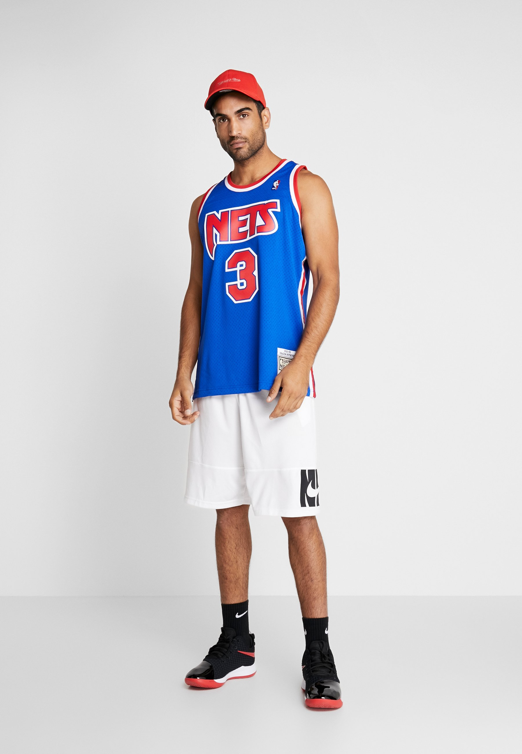 Mitchell & Ness NBA SWINGMAN NEW JERSEY NETS DRAZEN PETROVIC #03 - Débardeur - royal